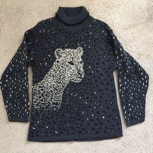 Basic Editions Turtleneck Sweater  Size Medium